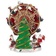 christmas collection musical ferris wheel animations home decorations christmas the warehouse - Animatronic Christmas Decorations