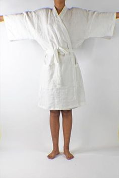 3cb0606b92b Feel the luxury and deep comfort of being wrapped in this cosy and soft  linen unisex