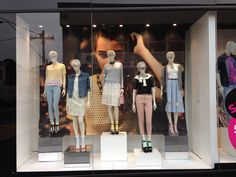 Topshop mannequin styling