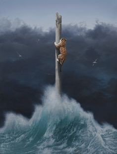 """This Painting is Titled: """"Conquest."""" And is By: Artist ~ Joel Rea. (Oil on Canvas. Art Visionnaire, Hyper Realistic Paintings, Bachelor Of Fine Arts, Surrealism Painting, Australian Artists, Surreal Art, Traditional Art, Online Art, Painting & Drawing"""