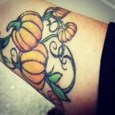 Pumpkin Tattoos