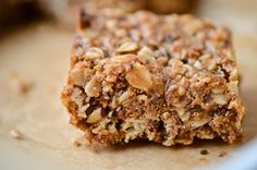 Quinoa granola bars - Scaling Back