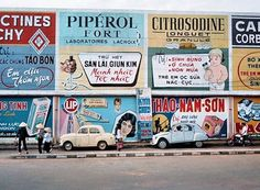 Advertise in 1900s had became golden time. french teach Vietnamese how to print paper, how to advertise. From this time, many business had growth very fast. This had brought big profit to Vietnamese businesses.