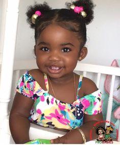 Baby kids girl black 37 New Ideas Black Baby Girls, Cute Black Babies, Beautiful Black Babies, Brown Babies, Mixed Babies, Black Kids, Cute Baby Girl, Beautiful Children, Cute Babies