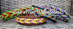 Luna's Mini Wellenbenno Paracord Tutorial, Bracelet Tutorial, Paracord Beads, Paracord Knots, Paracord Bracelets, Minis, Swiss Paracord, Dog Crafts, Collar And Leash