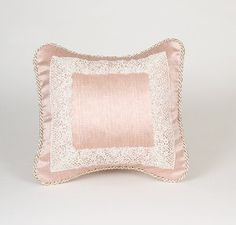 Madison Pink with Lace Pillow