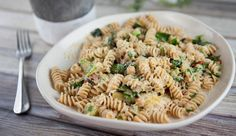 Chickpea Brussel Sprout and Parmesan Pasta | Good Chef Bad Chef