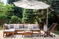 Do Pergolas Give Shade Ikea Outdoor, Outdoor Lounge, Outdoor Spaces, Outdoor Living, Outdoor Decor, Ikea Patio Furniture, Teak Outdoor Furniture, Furniture Stores, Balustrades