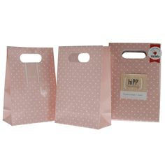 HiPP Sweet Pink Dot Party Bags