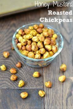 These Honey Mustard These Honey Mustard Roasted Chickpeas the...  These Honey Mustard These Honey Mustard Roasted Chickpeas the most wonderful crunchy healthy snack that everyone loves. You will love how easy and cheap they are to make too. Recipe : http://ift.tt/1hGiZgA And @ItsNutella  http://ift.tt/2v8iUYW