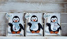 Cards made by Wybrich: ATC- Penguin