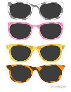 Animal Print Glasses