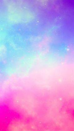 Iphone Wallpaper Sky, Rainbow Wallpaper, Glitter Wallpaper, Cellphone Wallpaper, Colorful Wallpaper, Aesthetic Iphone Wallpaper, Cool Wallpaper, Pink Nebula Wallpaper, Flowery Wallpaper