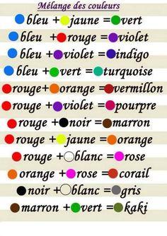 Chartre de couleur