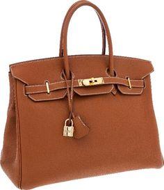 Hermes Birkin in Togo leather