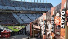 The University of Texas Darrell K Stadium, North End   HENSEL PHELPS