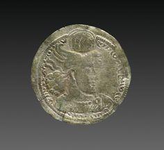 Drachma, 303-310. Iran, Sasanian, reign of Hormizd II, 4th century, silver, Diameter - w:2.60 cm (w:1 inches). Gift of Edward Gans 1965.316