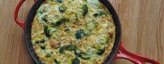 Broccoli Cheddar Frittata Recipe   Greatist