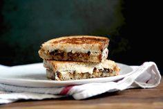 Grilled Cheese via @kingarthurflour