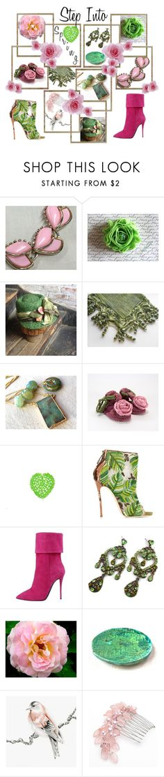 """Step Into Spring!"" by epowell11 ❤ liked on Polyvore featuring Dsquared2 and vintage"