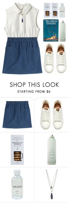 """""""trains"""" by tmizzle ❤ liked on Polyvore featuring A.P.C., H&M, Cartwright & Butler, Drybar, Lord & Berry and Melissa Joy Manning"""
