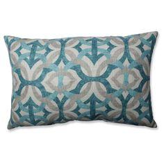 Grey Tipton Frost Throw Pillow (18.5x11.5) - Pillow Perfect, Blue