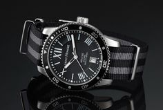 SAINT HONORE is a watch maker company since 1885 and their concept is Paris Style, this is another Swiss Made and interesting watch brand. about Artcore Diver Watch line is start from 2014 and now … Bracelet Nato, Beautiful Watches, New Model, Watch Brands, Omega Watch, Diving, Watches For Men, Innovation, Saints