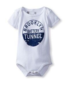 50% OFF Mini Dilascia Baby Made in Brooklyn Bodysuit (White) #apparel #Kids