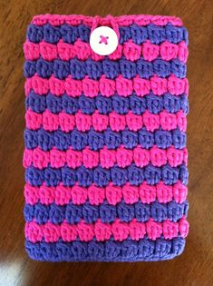 Ravelry: The Kristy Kindle Fire Case pattern by Lizbeth Designs Lily Sugar Cream