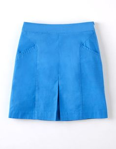 I've spotted this @BodenClothing Pretty Pleat Skirt Cerulean Blue