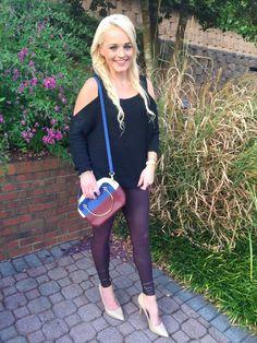 Spanx burgundy faux leather leggings