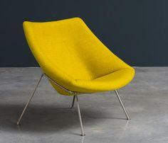 Silvio Cavatorta; Brass-Based Lounge Chairs, 1958 - Google Search