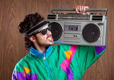 We ranked the most memorable style choices that helped define the decade. These are The 80 Greatest Fashion Trends. Next Fashion, Future Fashion, Boombox, Hiphop, Athleisure, 1980s Fashion Trends, Cool Outfits, Fashion Outfits, Style Fashion