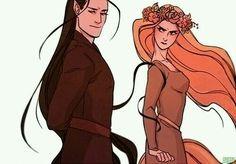 Melkor y Yavanna
