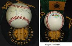 Mickey Mantle Autographed Official AL Baseball - New York Yankees - Upper Deck Authenticated by Real Deal Memorabilia. $1124.95. This official American League Baseball was personally hand signed by Mickey Mantle. This ball is special because Mantle added his #7 inscription. The ball is in excellant shape since it's been stored away for over 17 years, and has minor even toning which is common for balls from this era. Mantle was an exclusive signer and spokesman for U...