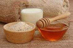 Find out how to make a honey-oatmeal mask to get glowing skin!