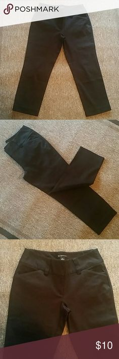 "INC Black Slacks NWOT International Concepts (INC) slacks. These are brand new, buttons and zipper all in tact. Sewn back pockets but usable front pockets. 28"" waist, 32"" length. Size 6 petite. INC International Concepts Pants Trousers"