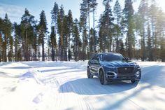 Jaguar FPACE Cold Weather Test