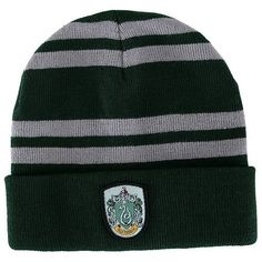 Harry Potter Slytherin House Beanie Hat 924e1fe4ff46