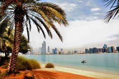 Abu Dhabi's sparkling shoreline #UAE