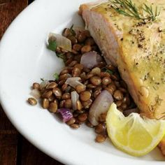 Buttery Lentils with Shallots Recipe | Cooking Light #myplate #protein #dairy #veggies