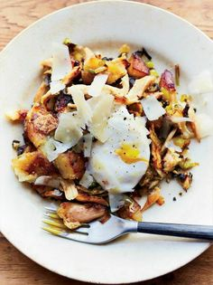 Chicken Hash With Eggs | KitchenDaily.com