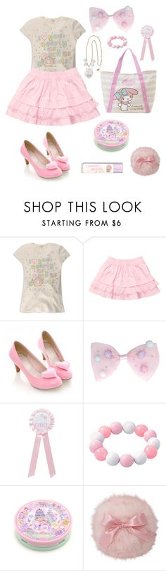 """Little fairy~"" by sweetpasteldream ❤ liked on Polyvore featuring Forever 21 and Paperchase"