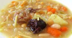 INGREDIENTES: 400 gr. de col rizada Un trozo de apio 2 patatas 2 zanahoria Agua que cubra las verduras Un contramuslo de pollo 80 gr. de te...