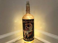 Items similar to Art Nouveau Wine Label Lamp on Etsy Wine Bottle Labels, Wine Label, Vodka Bottle, Vintage Wine, Vintage Art, Whiskey Bottle, Art Nouveau, Bottle Lamps, Etsy Shop