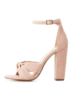 Knotted Two-Piece Sandals | Charlotte Russe