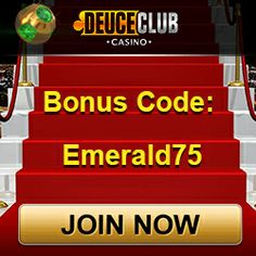 Deuce Club is back with its Amazing Emerald Bonus. Get the bonus codes and gamble online to enjoy this exciting offer. Online Casino Bonus, Played Yourself, Online Games, Glitters, Emerald, Brother, Coding, Club, News