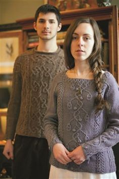 An Aran for Annie - Media - Knitting Daily dit patroon staat in de jane austen knits summer 2012, erg mooi