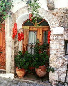 Mesta-Khios island-Greece