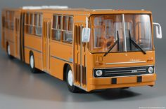diecast43: Оранжевое настроение: Ikarus-280 (Classicbus)